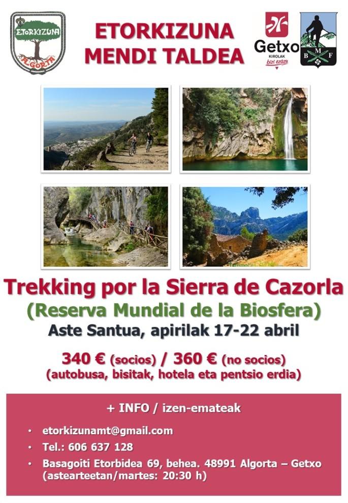 Cartel Sierra de Cazorla