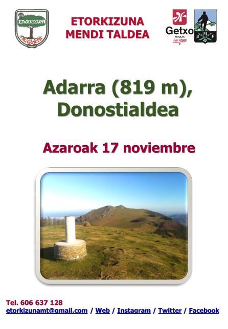 Cartel Adarra